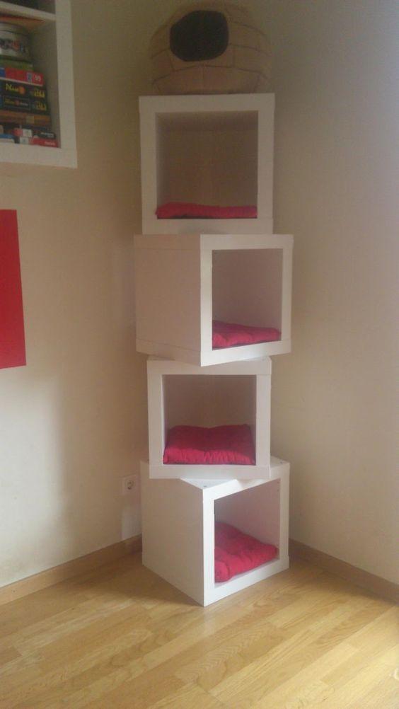 Plankjes Aan De Muur Voor Kat.7 Ikea Hacks Die Je Kat Fantastisch Zal Vinden